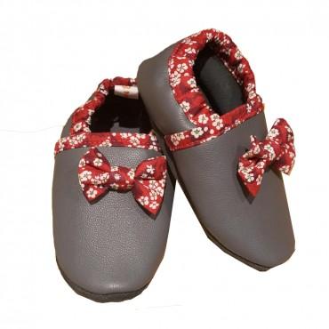 chausson barefoot cuir tanné végétalement