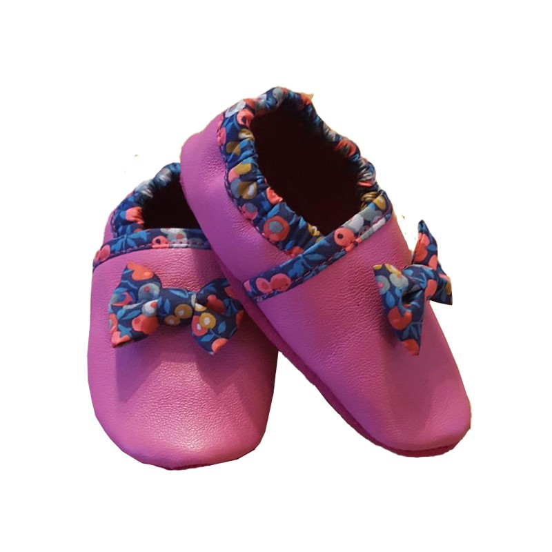 chaussons cuir barefoot enfant