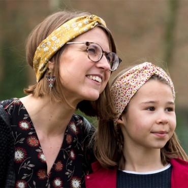 headband femme et enfant liberty
