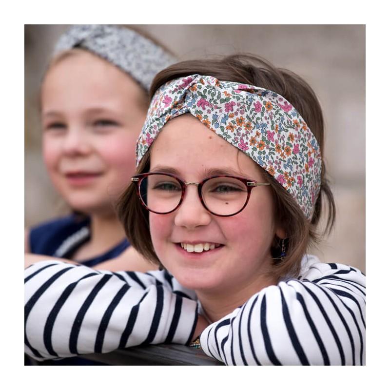 headband tissu liberty Ava
