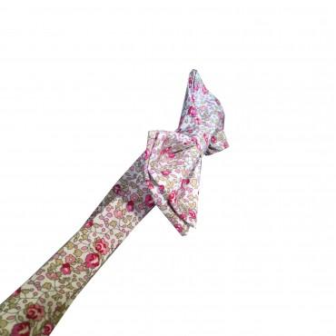 nœud papillon liberty rose eloise